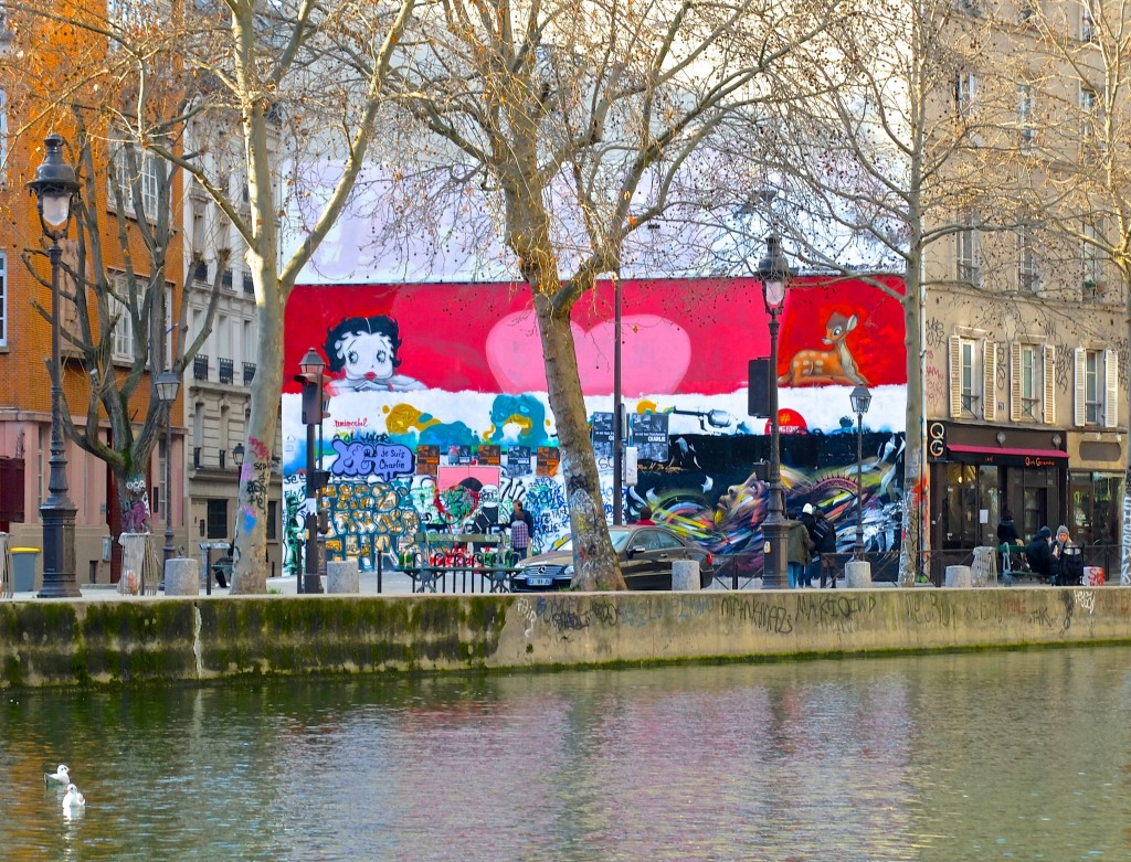 à Paris cet été canal de l'ourcq hôtel raspail montparnasse