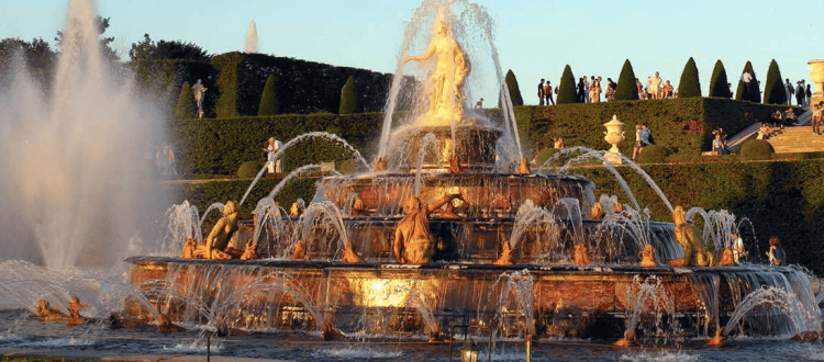 Raspail Montparnasse - Le retour des grandes eaux musicales au château de Versailles