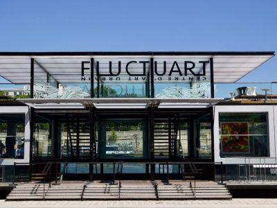 Fluctuart : un centre urbain flottant à Paris ! Hôtel Raspail Montparnasse