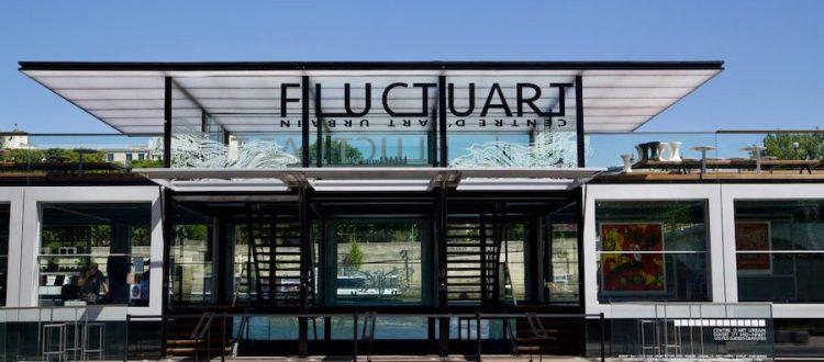 Fluctuart- a floating urban center in Paris hotel raspail montparnasse